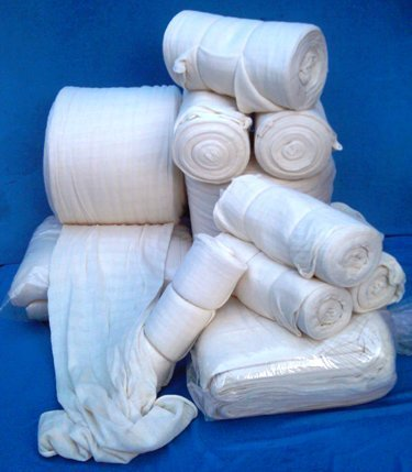 100% Cotton Stockinette 25kg pack